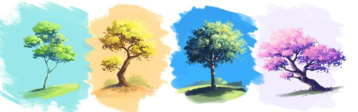 Trees by lisiCat