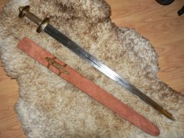 Vendel style sword scabbard by Farliner