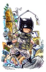 Batman End of the World by Dve6