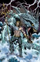 Aquaman - colors by spidey0318