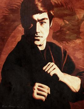 Bruce Lee by rinthcog