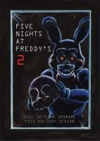 Five Nights at Freddy's 2 Movie Poster by CarlChrappa