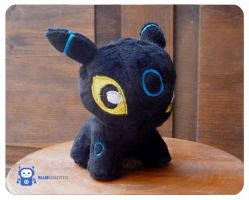 Baby shiny Umbreon by BlueRobotto