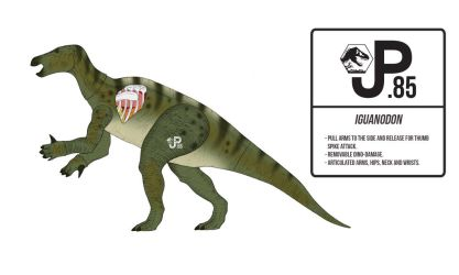 Jurassic World Alive Iguanodon Action Figure by March90