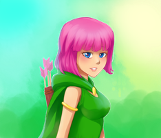 CoC: Archer by jonhel1394