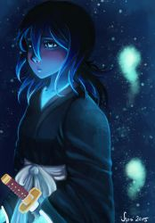 Glowing Souls - Rukia by sugarpotato