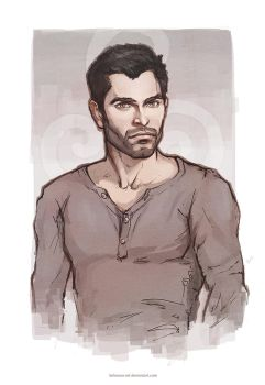 Derek Hale by Kolosova-Art