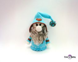Megno the Christmas Gnome by Crocsbetty
