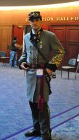 Steampunk Confederate by Challenger70TA