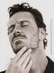 Michael Fassbender by AmBr0
