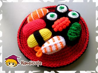 Sushi Set Amigurumi by imuya