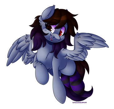 :COMMISSION: Dem Toofy Pegs by ShyShyOctavia