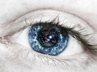 Eyes that Held the Heavens V2 by professorscience
