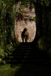 Indiana Jones - Jungle Steps (Fan Art) by Jones6192