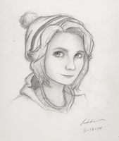 Heather - Graphite by drawing-wannabe