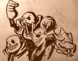Inktober issue 6 by Just-Rube