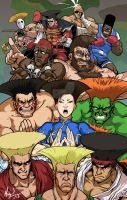 Guile's Hair Goes with (Almost) Everyone - COLORZ by MichaelMayne