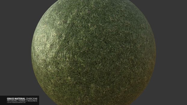 Grass Material by TRAEMORE