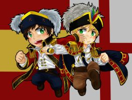 APH - Spain VS England by Momiji95