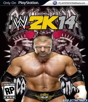 WWE 2K14 Cover Contest Triple H Entry