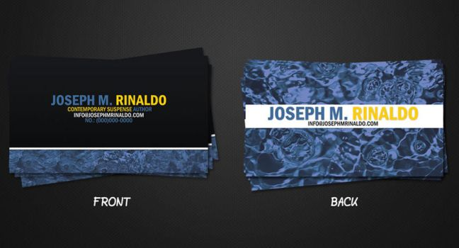 J Rinaldo Business Card by sweetierika
