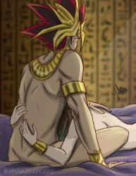 Atem after his Wedding by MarieJaneWorks