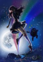 Rainbow Brite: Moonglo by AmarineCraft
