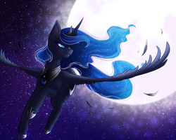 Princess Luna by Firelock13