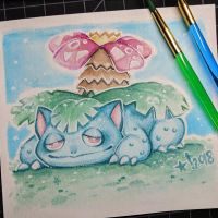 Venusaur by StarSheepSweaters