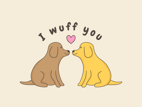 I Wuff You by apparate