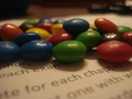 mnms on a Textbook by CroftMan93
