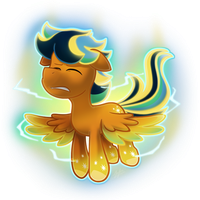 Lightning Rider (Rainbow Powered) by BuizelCream