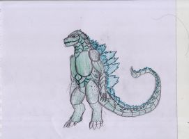 Godzilla Redesign (2018) by Kevfilms2x2