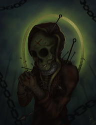 Saint torture by Twistedpr3lude