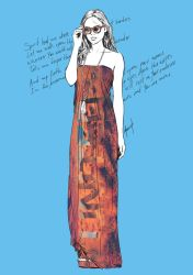 Hillsong United dress - Oceans by mzant