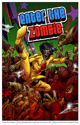 Enter The Zombie comic cover by DaneRot
