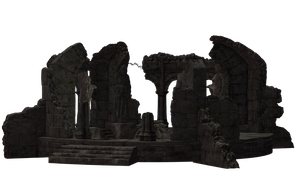Building - Temple Ruins 03 by Free-Stock-By-Wayne