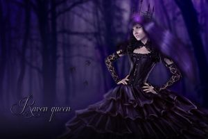 Raven queen by TaniaART