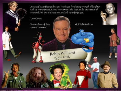 R.I.P. Robin Williams by celticpath