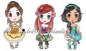 Disney lolita princess charms by xxxKei87xxx