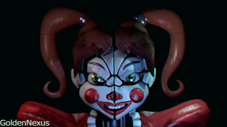 Stylistic Circus Baby (FNAF) by GoldenNexus