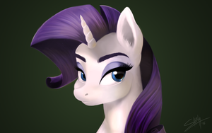 Rarity by Bluefeathercat