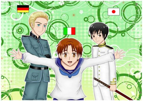 Hetalia : Axis Powers by EirinTheFairy