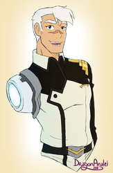 VLD Captain Shiro by DragonAnalei