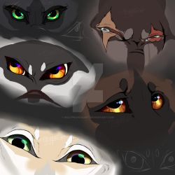 Eyes by wolfprancis2bet