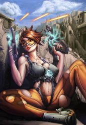 Tracer takes cover by Yangyue