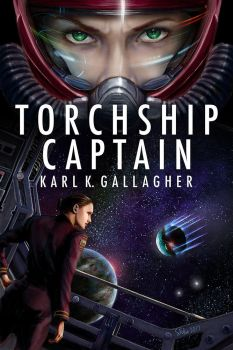Torchship Captain Book Cover by sfolse