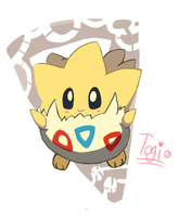 Togepi by LizardonEievui13
