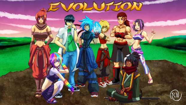 Evolution Group M by darkshortyx