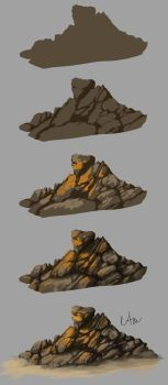 Rock step by step by Naia-Art
